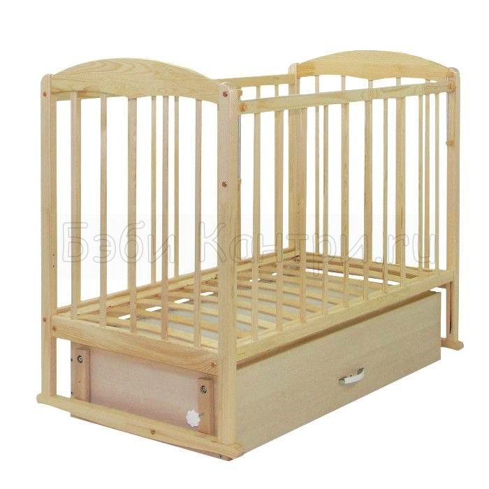 Кроватка детская маятник СКВ-1
