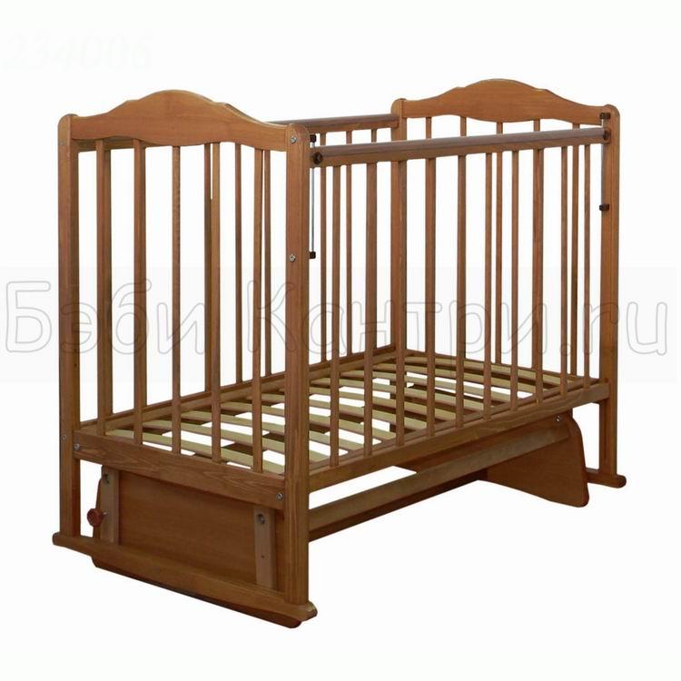 Кроватка детская маятник СКВ-2