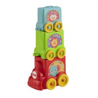 Кубики-блоки Паровозики Fisher Price CBP38