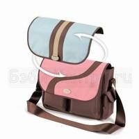Элегантная сумка Авент с удобным плечевым ремнем может менять свой облик.