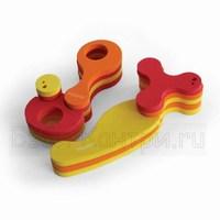 от 6 месяцев.  Игрушки из пенопласта для ванны.