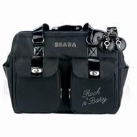 Стильная и многофункциональная сумка для мамы Beaba Rock n'Baby.